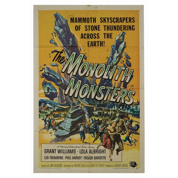 The Monolith Monsters 1-Sheet Poster.