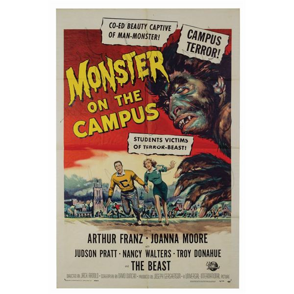 Monster on Campus 1-Sheet Poster.
