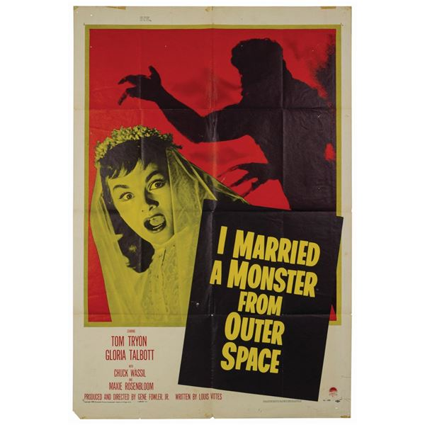 I Married a Monster from Outer Space 1-Sheet Poster.