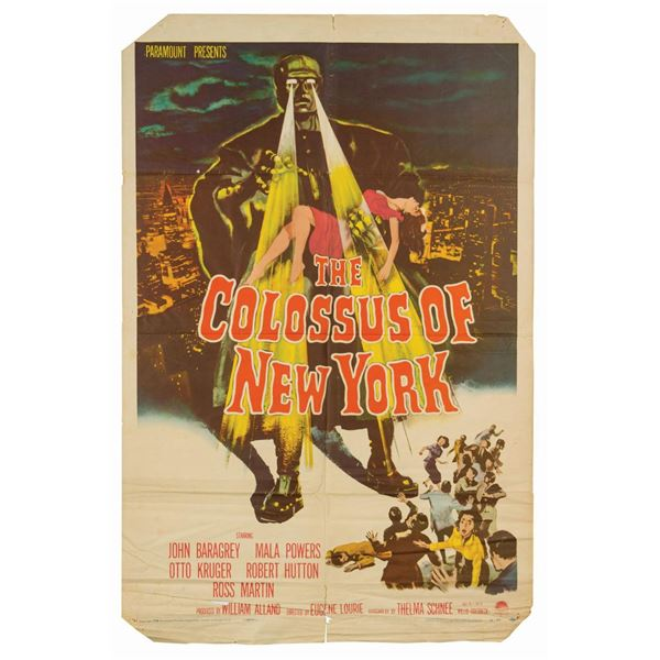The Colossus of New York 1-Sheet Poster.
