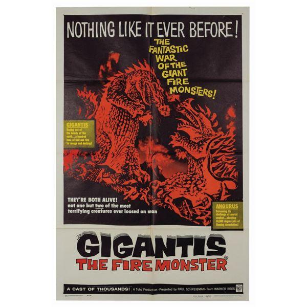 Gigantis 1-Sheet Poster.