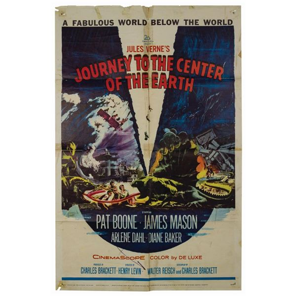 Journey to the Center of the Earth 1-Sheet Poster.