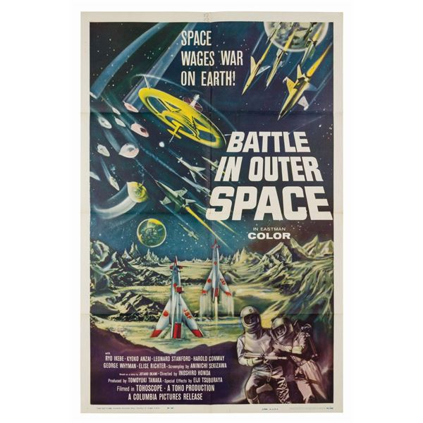 Battle in Outer Space 1-Sheet Poster.