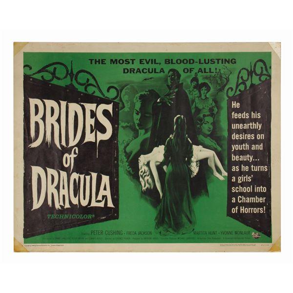 Brides of Dracula Half-Sheet Poster.