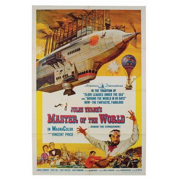 Jules Verne's Master of the World 1-Sheet Poster.