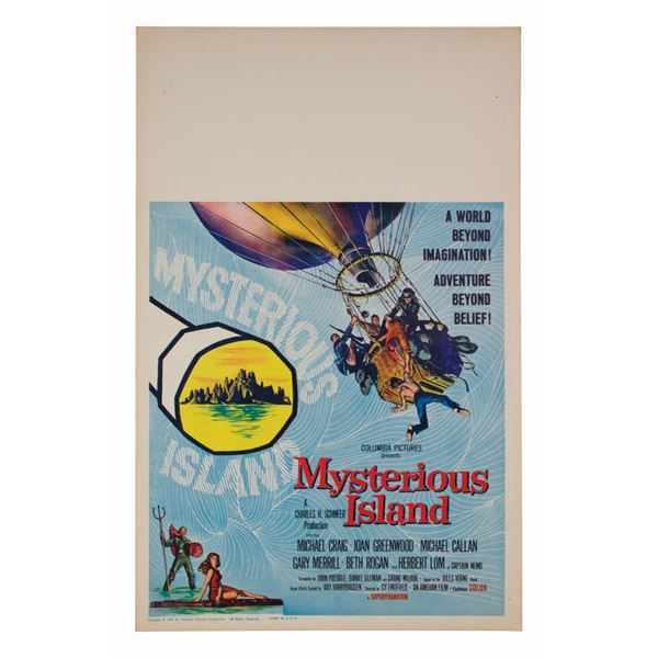 Mysterious Island Window Card.