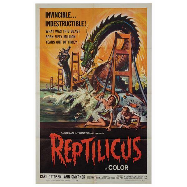 Reptilicus 1-Sheet Poster.