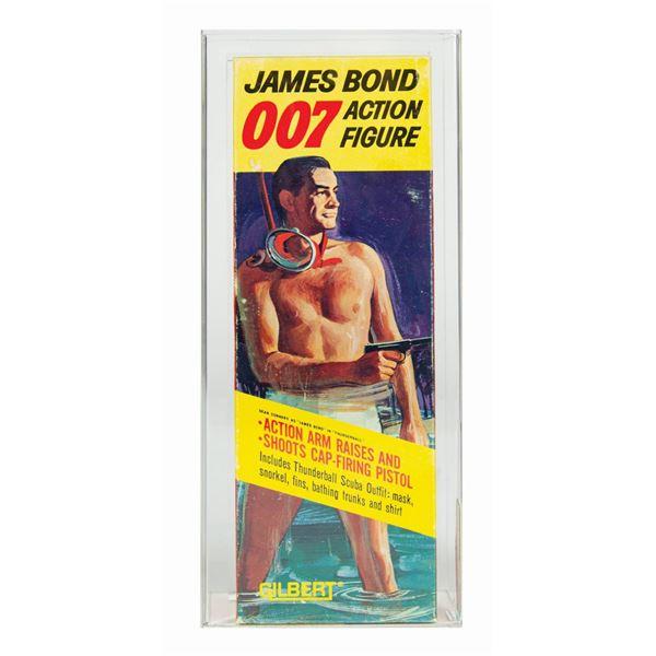 James Bond 007 Graded Thunderball Action Figure in Box.