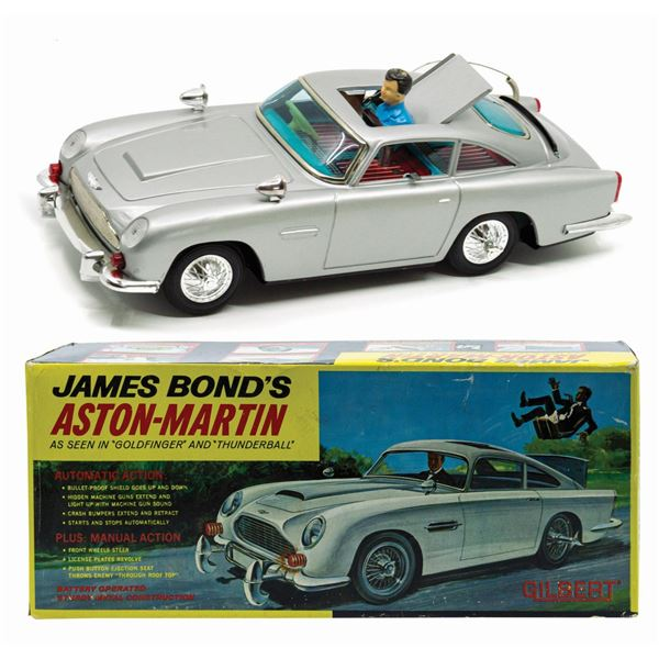 James Bond 007 Aston-Martin Electronic Car.