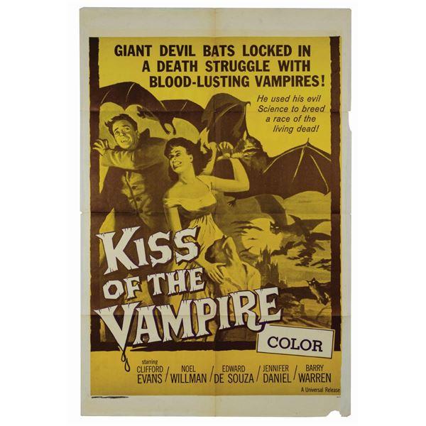 Kiss of the Vampire Military 1-Sheet Poster.
