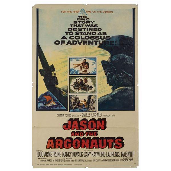 Jason and the Argonauts 1-Sheet Poster.