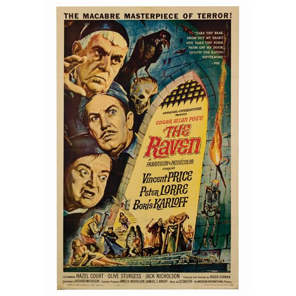 The Raven 1-Sheet Poster.