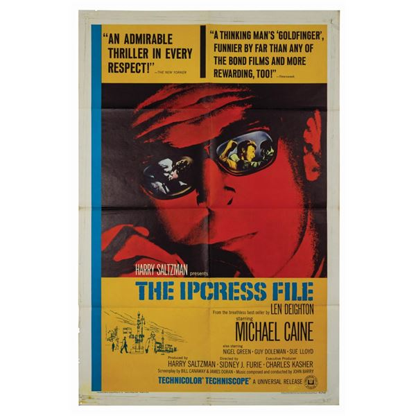 The Ipcress File 1-Sheet Poster.