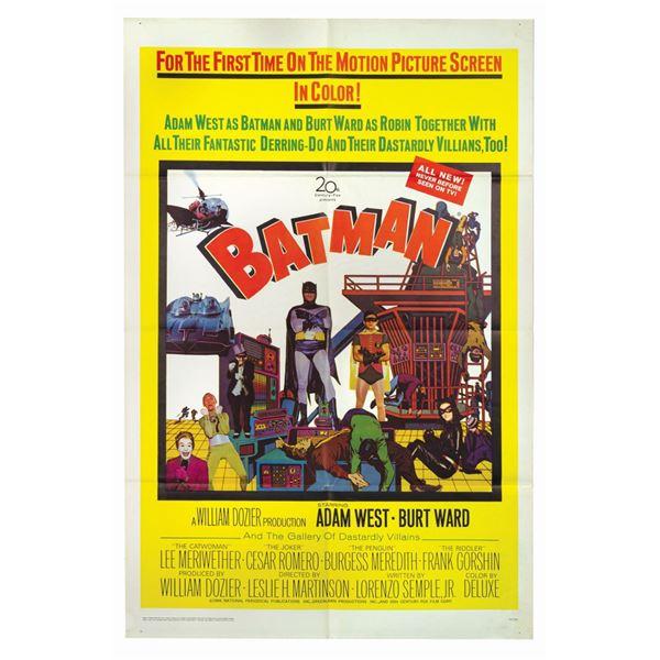 Batman 1-Sheet Poster.