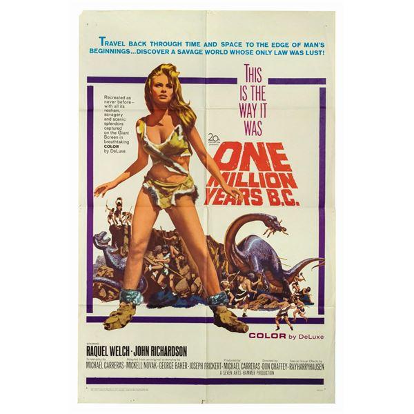 One Million Years B.C. 1-Sheet Poster.