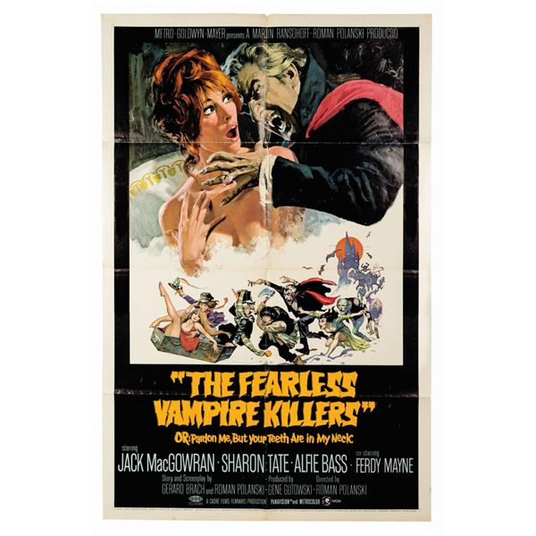 Fearless Vampire Killers 1-Sheet Poster.