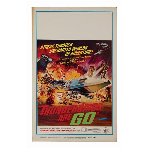 Thunderbirds Are GO Window Card.