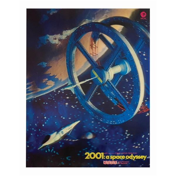 2001: A Space Odyssey Lenticular Standee.