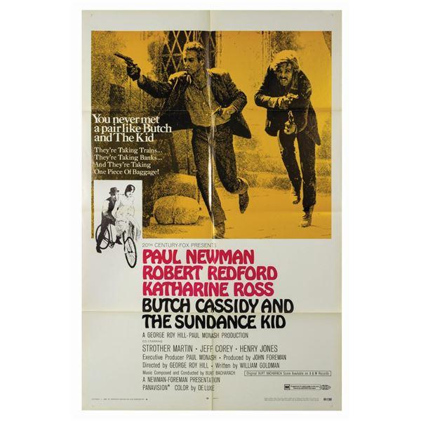 Butch Cassidy & the Sundance Kid Style B 1-Sheet Poster.
