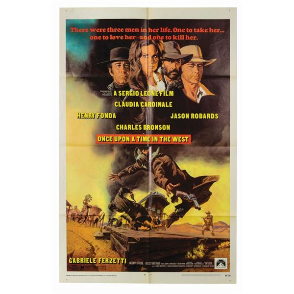 Once Upon a Time in the West 1-Sheet Poster.