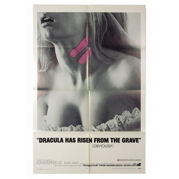 Dracula Has Risen from the Grave 1-Sheet Poster.