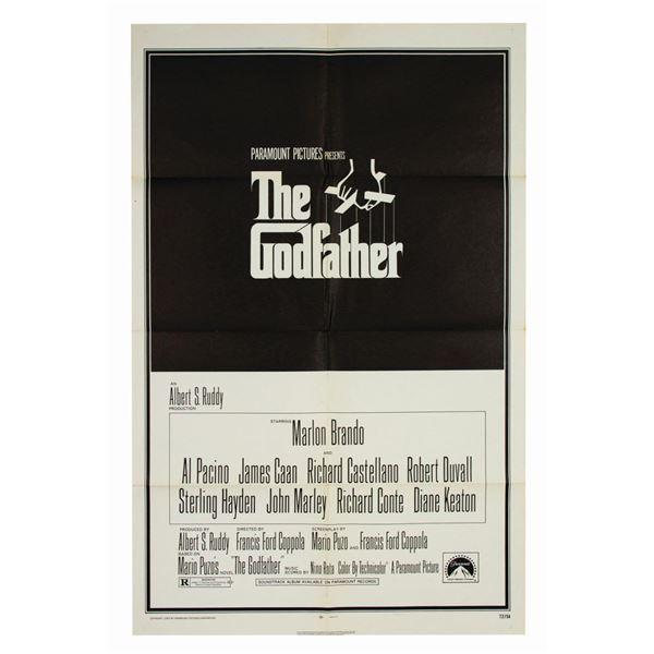The Godfather Rare Matte Finish 1-Sheet Poster.