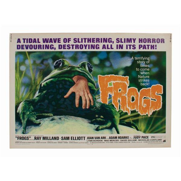 Frogs Half-Sheet Poster.