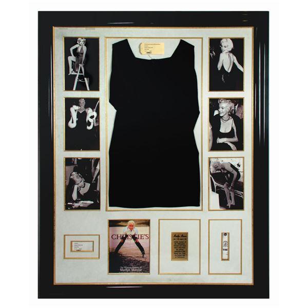 Black Dress from Estate of Marilyn Monroe.