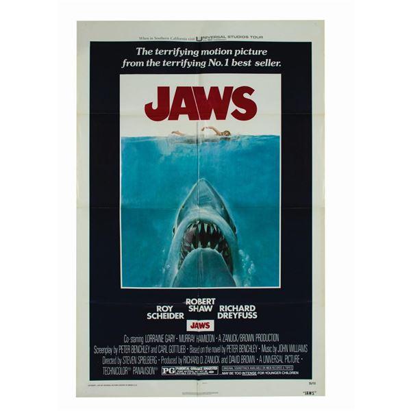 Jaws 1-Sheet Poster.