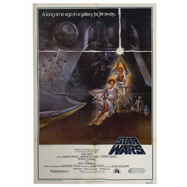 Star Wars Style A 1-Sheet Poster.