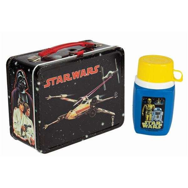 Star Wars Lunch Box with Thermos.