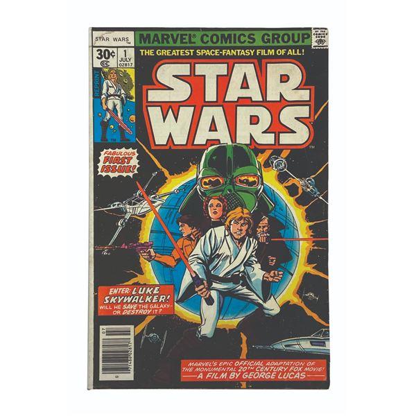 Star Wars #1 Reprint Marvel Comic Book.