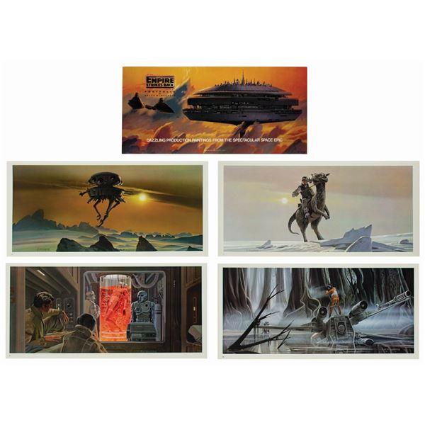 The Empire Strikes Back Portfolio by Ralph McQuarrie.