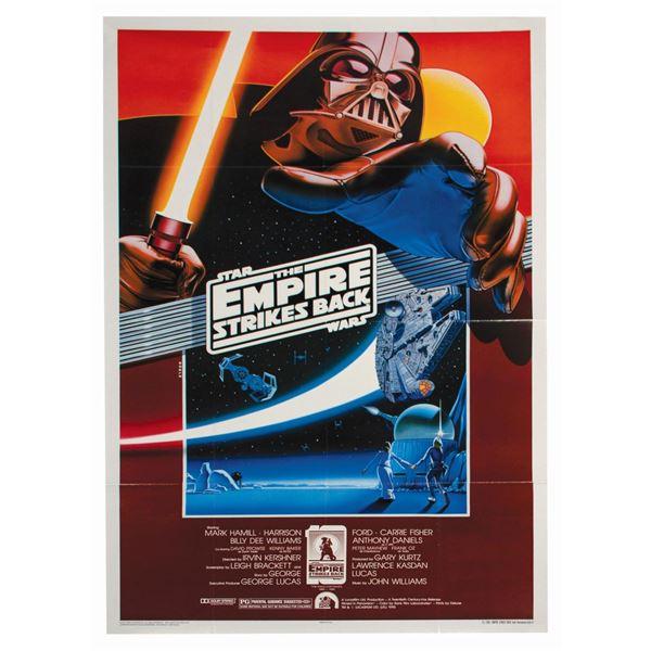 The Empire Strikes Back Fan Club Anniversary Poster.