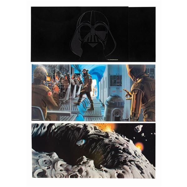 The Empire Strikes Back Promotional Portfolio.