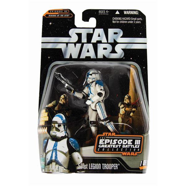 501st Legion Trooper Sample Star Wars Action Figure.