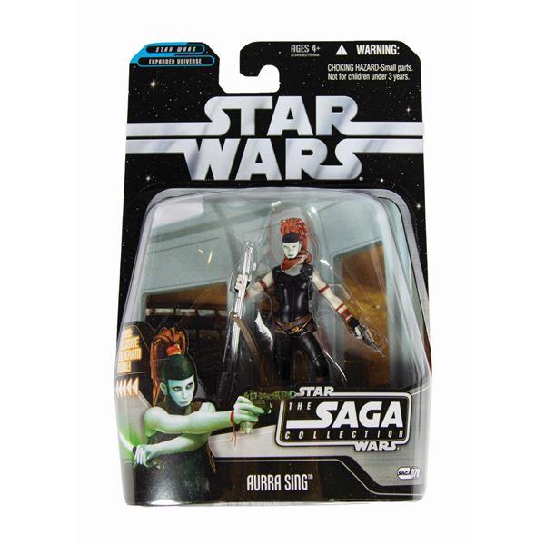 Aurra Sing Sample Star Wars Action Figure.