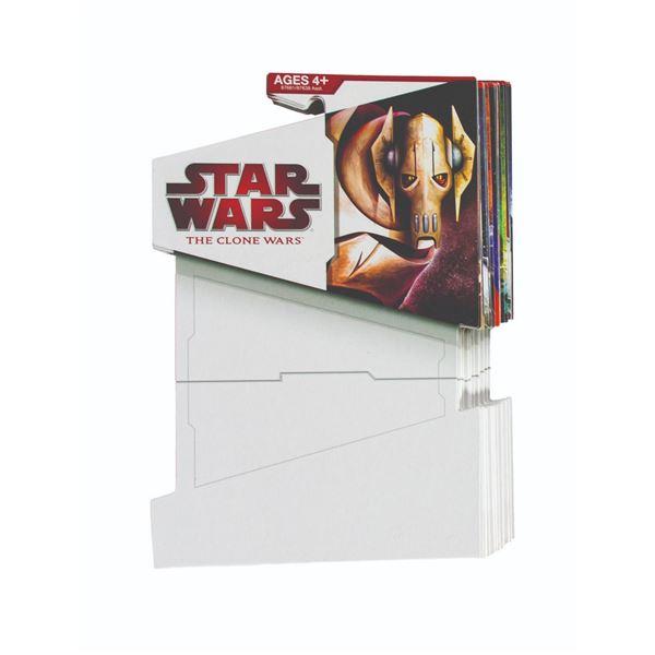 Clone Wars Complete Set of 2009-2010 Proof Card Backs.