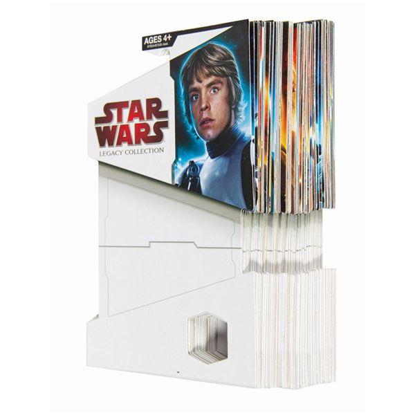 Star Wars Legacy Complete Set Proof Card Backs.