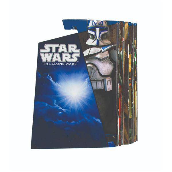 Set of (55) The Clone Wars 2010-2011 Proof Card Backs.
