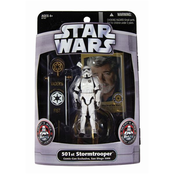 501st Stormtrooper Rose Parade Star Wars Action Figure.