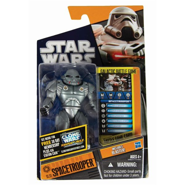 Spacetrooper Error Sample Star Wars Action Figure.