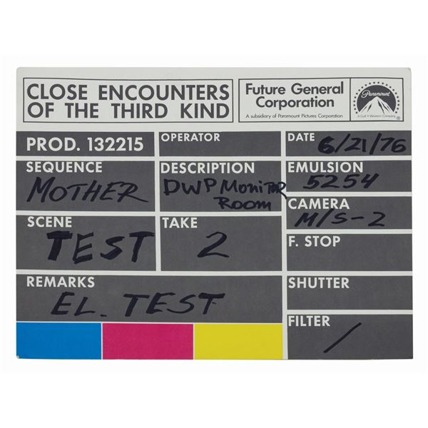 Close Encounters Mothership Paper Slate.