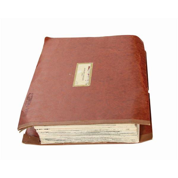 1941 Continuity Sketchbook.