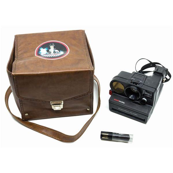 Temple of Doom Production Continuity Polaroid Camera.