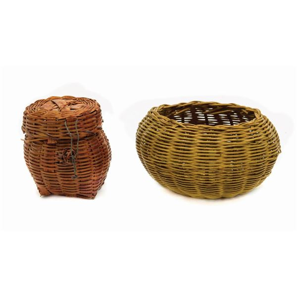 Pair of Miniature Baskets from Temple of Doom.