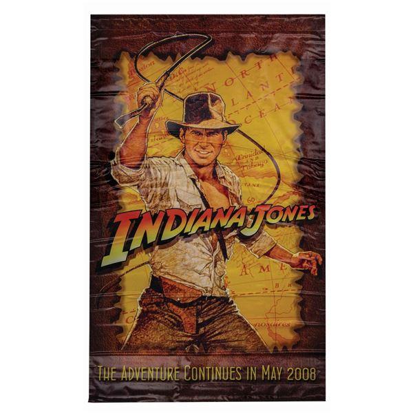 Hasbro Indiana Jones Vinyl Banner