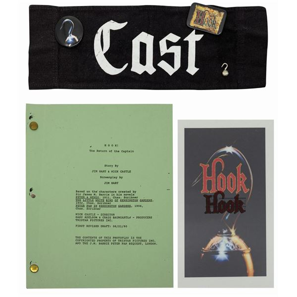 Hook Script, Chairback, and Publicity Transparencies.