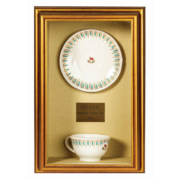 Titanic White Star Line Cup & Saucer Props.