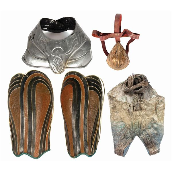 Collection of (5) John Carter Costume Pieces.